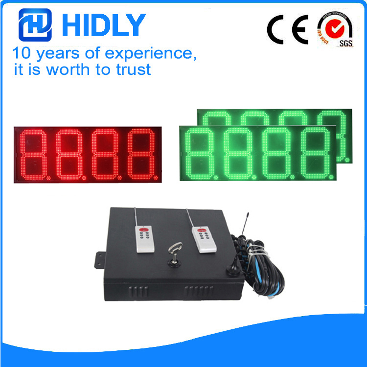 16 Inch Red&Green LED Oil Signs