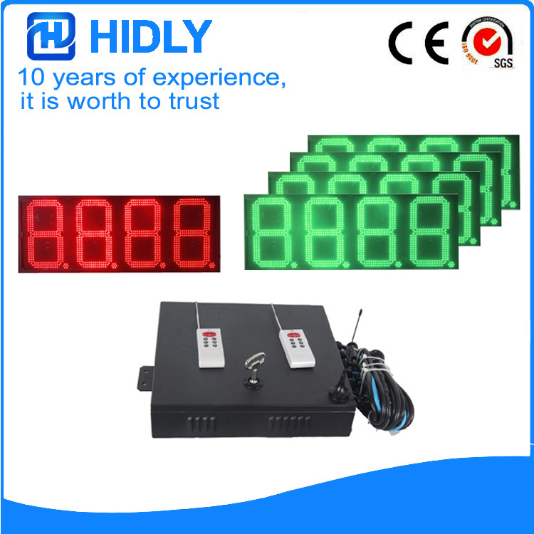 16 Inch Red&Green LED Oil Price Screen For Station