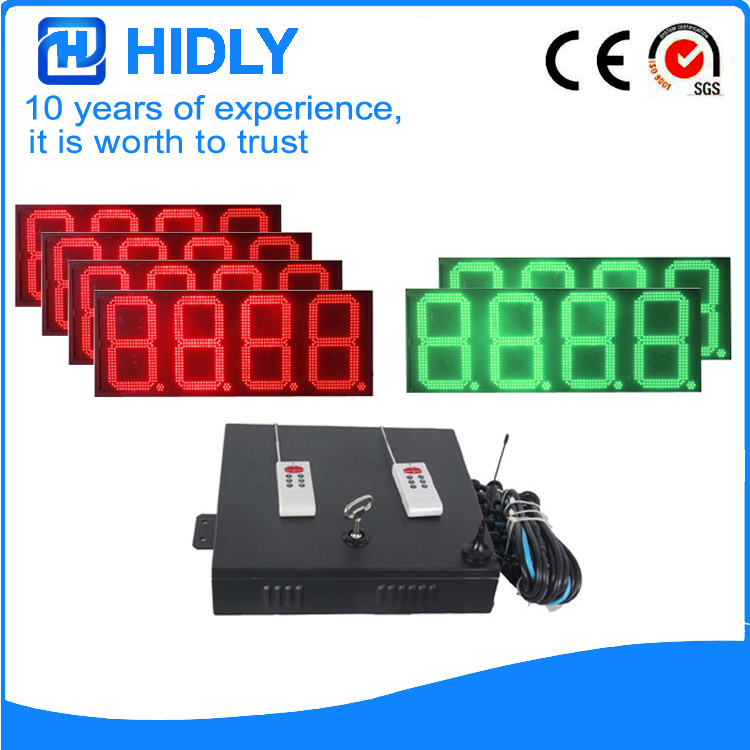 16 Inch Red&Green LED Oil Screen For Station