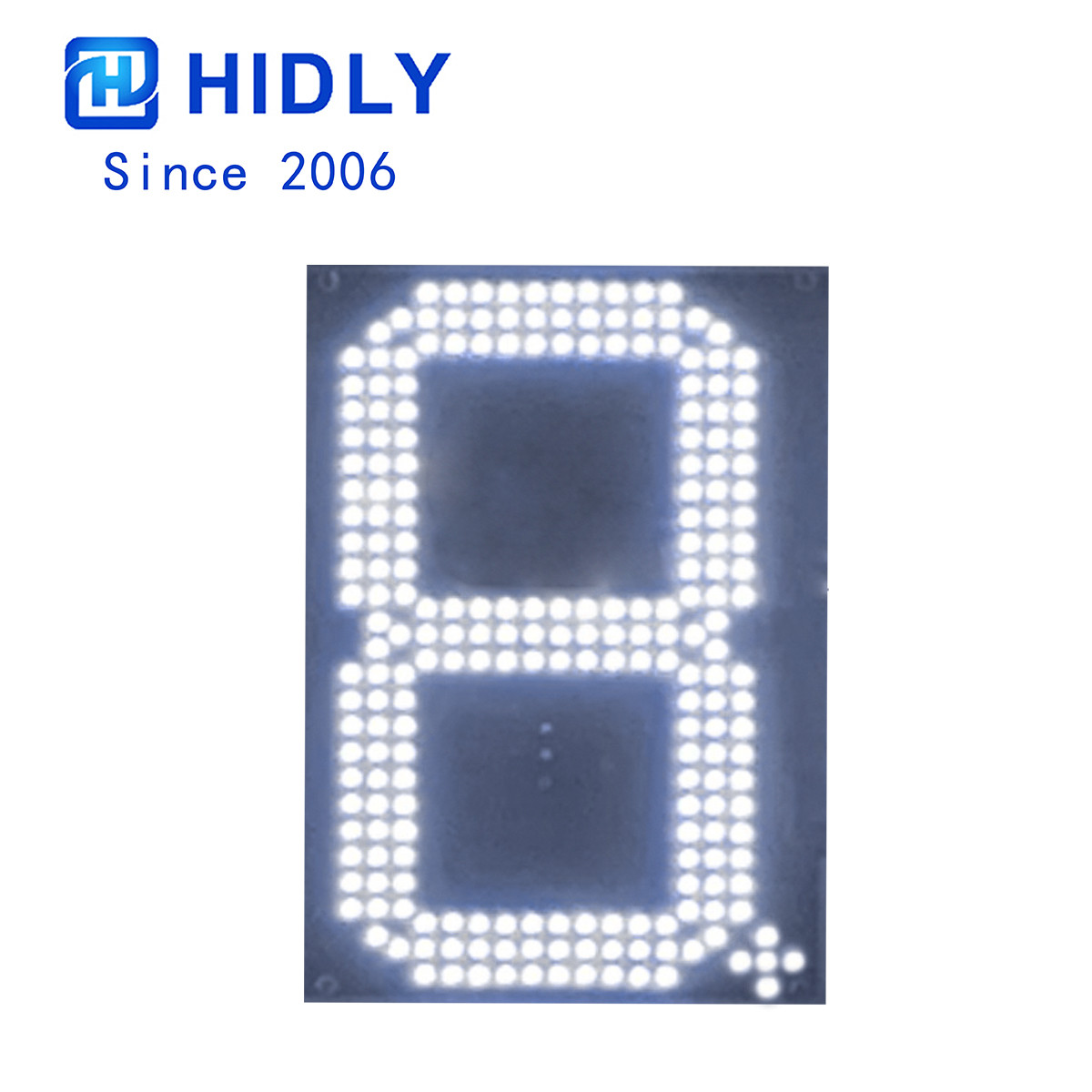 White 10 Inch Led Digital Board