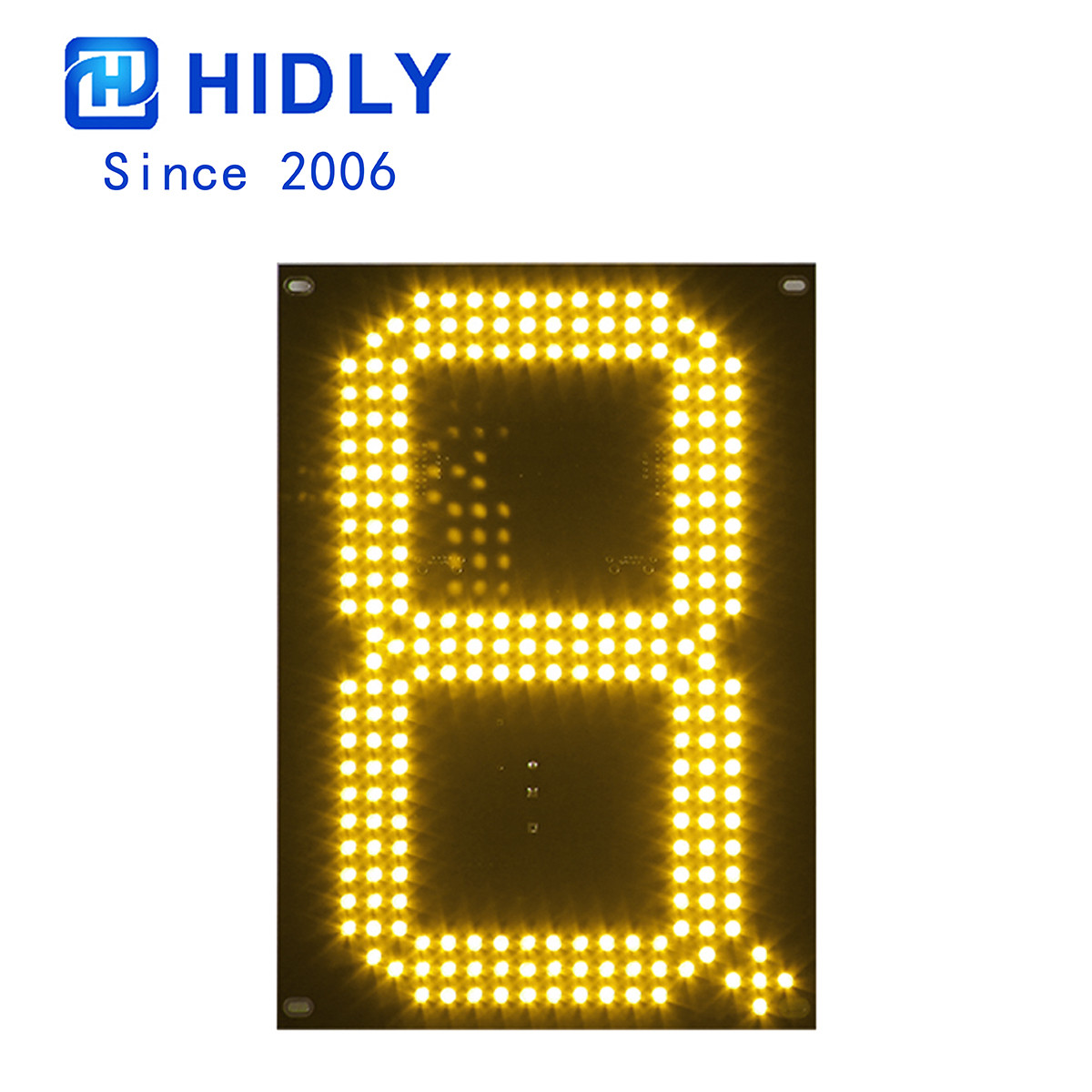 Yellow 10 Inch Led Digital Board
