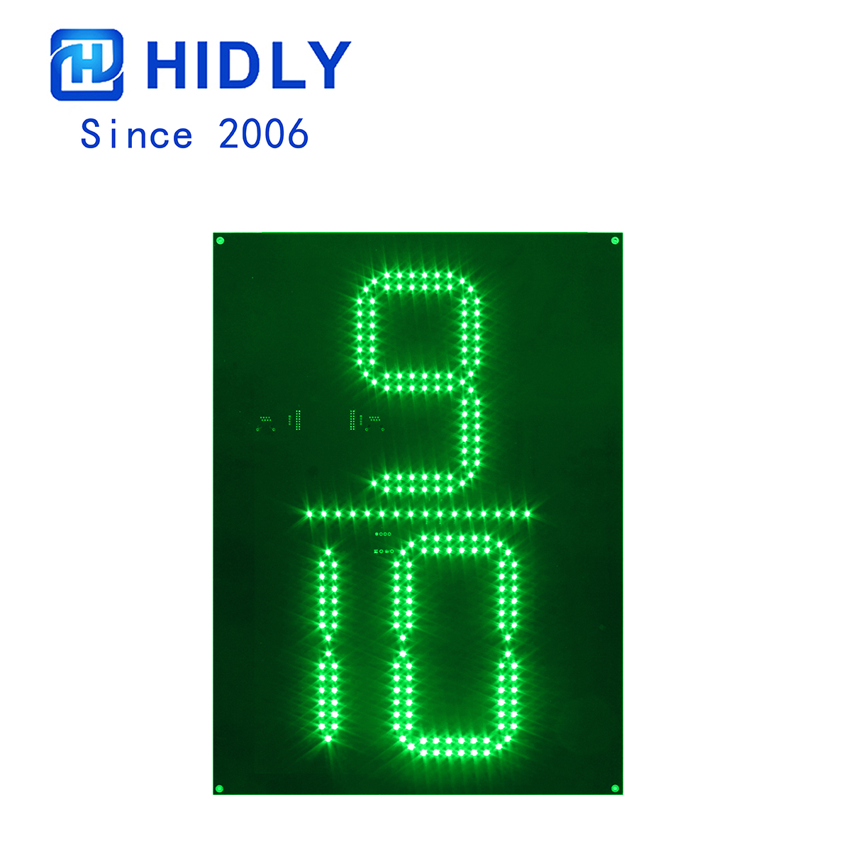 Green 20 Inch 9/10 Led Digital Board