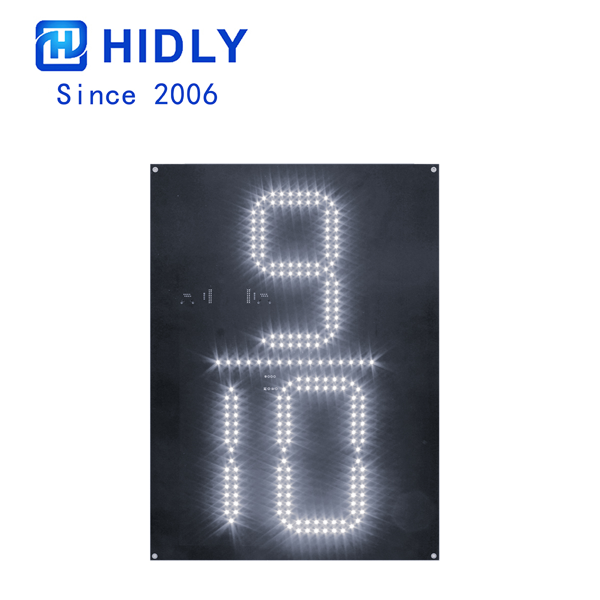 White 20 Inch 9/10 Led Digital Board