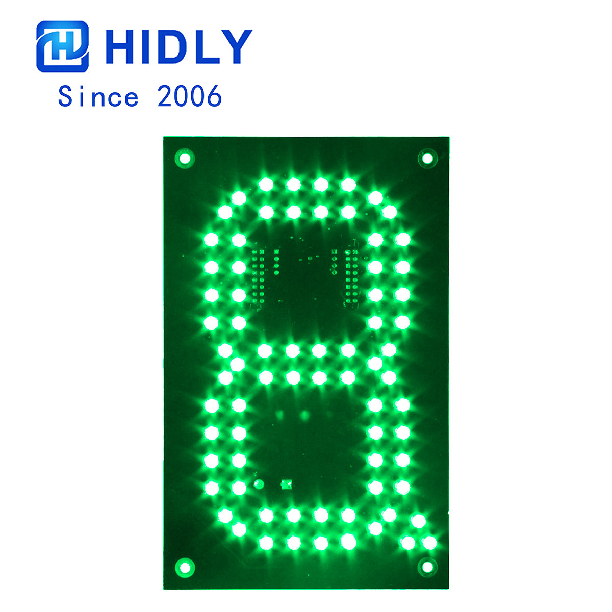 Green 6 Inch Led Digital Board