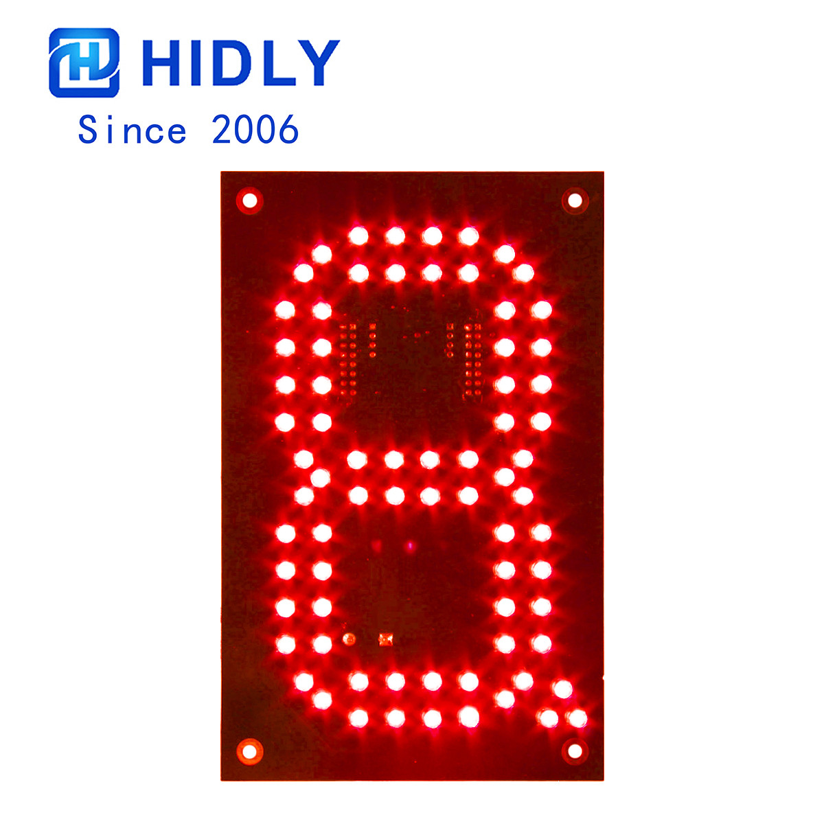 Red 6 Inch Led Digital Board