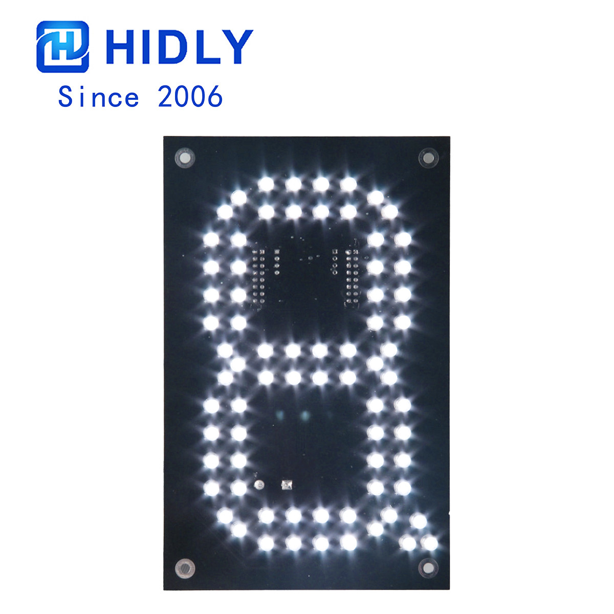 White 6 Inch Led Digital Board