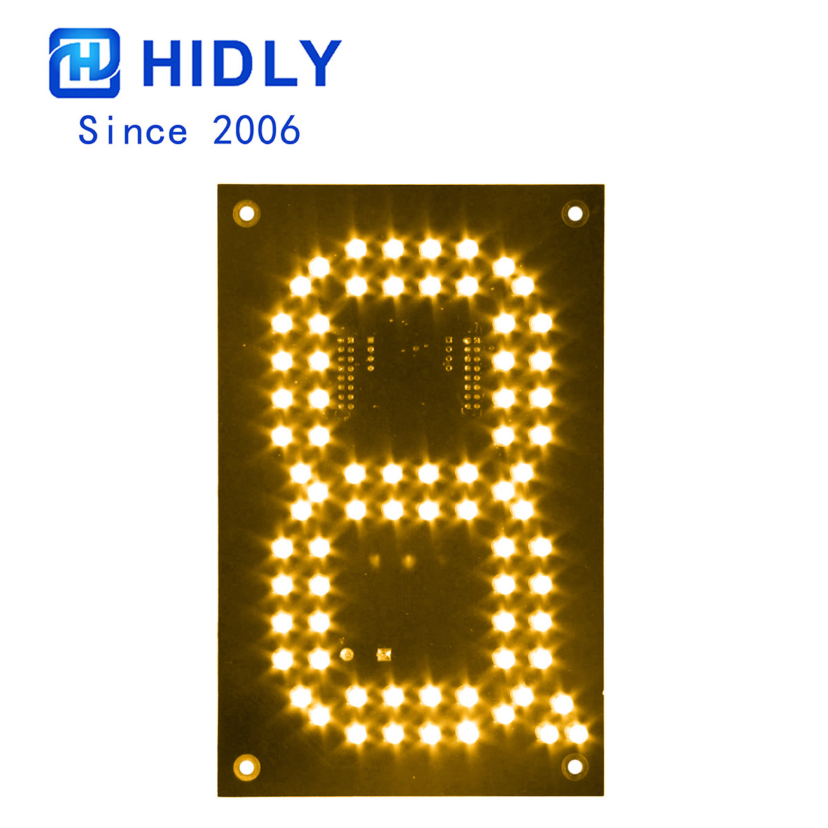 Yellow 6 Inch Led Digital Board