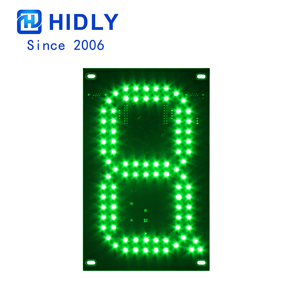 Green 7 Inch Led Digital Board