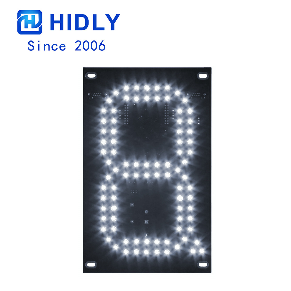 White 7 Inch Led Digital Board