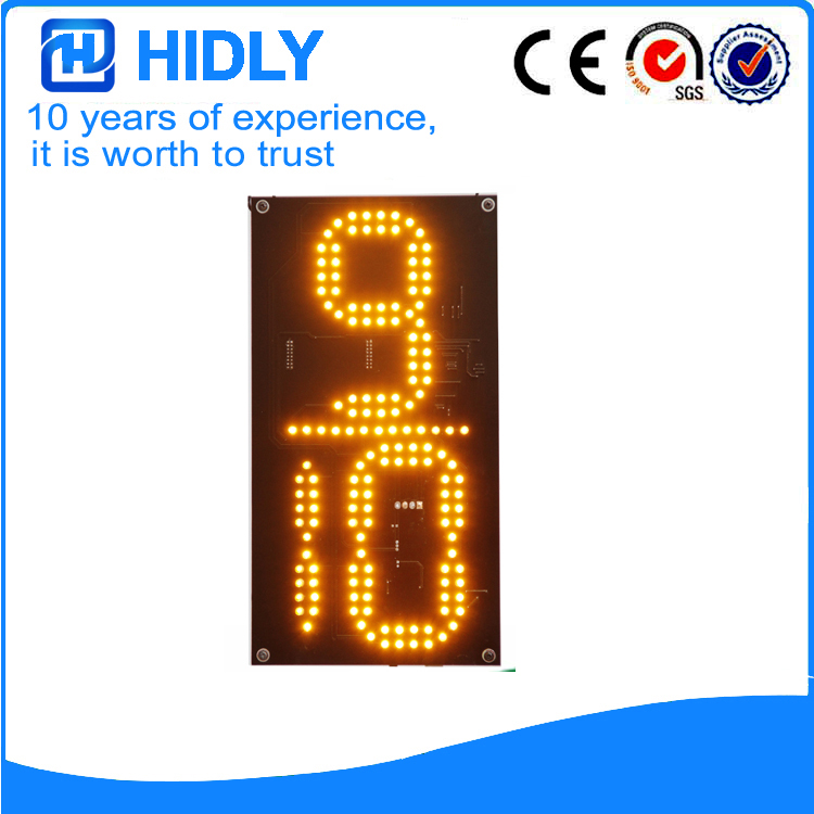 12 Inch Yellow 9/10 LED Oil Signs