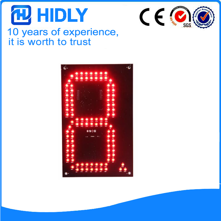 8 Inch Red LED Digital Signs