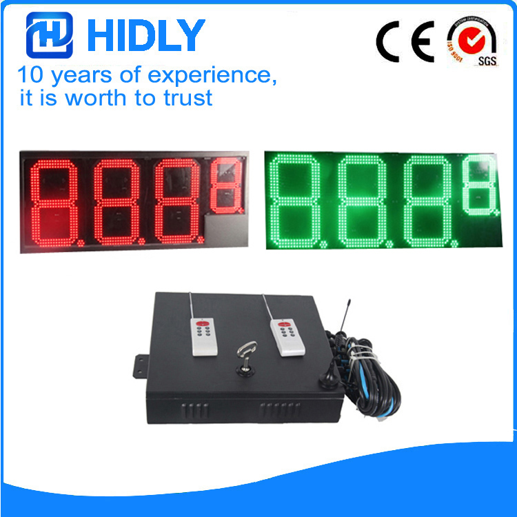 16 Inch 1R1G Digital LED Signs
