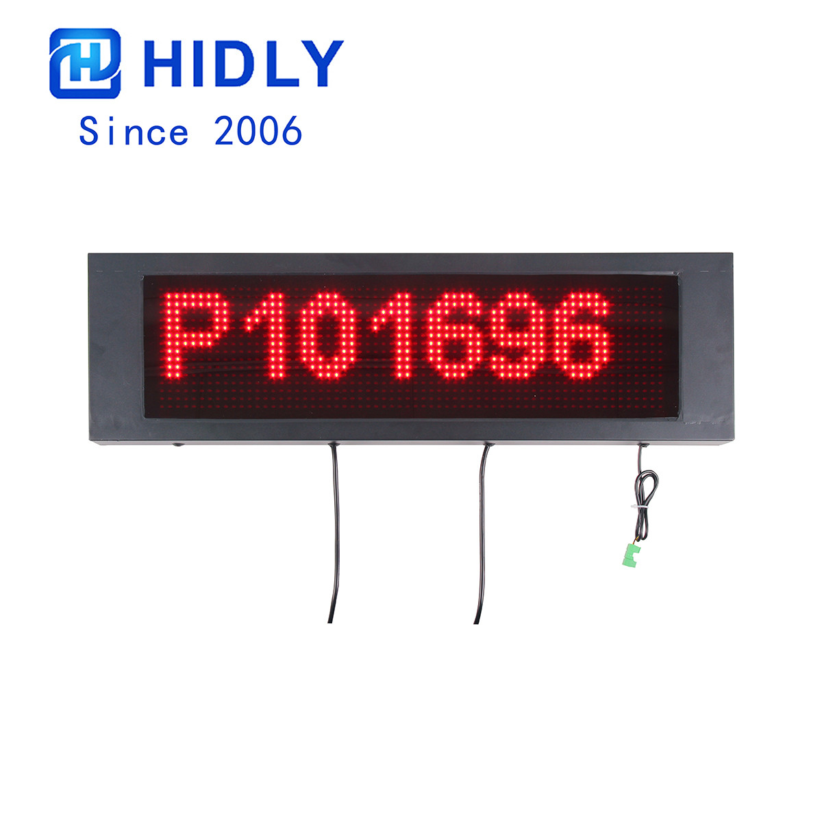 HIDLY P10 RED Parking Signs
