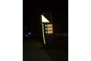 LED Gas Price Signs Cases Collection In Europe-47