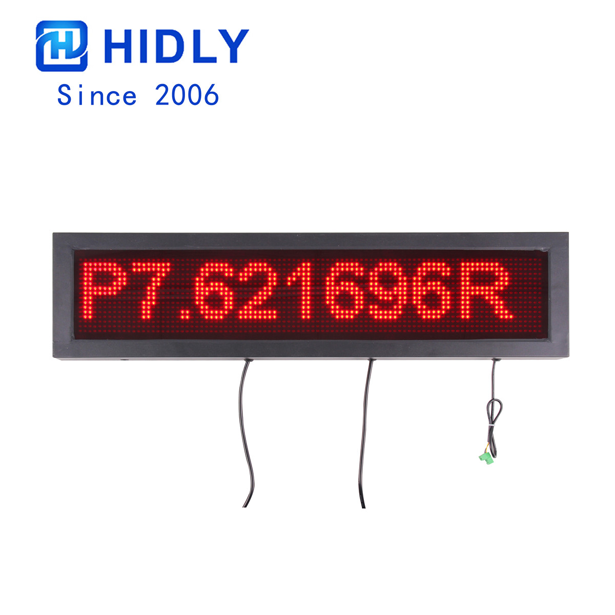 P7.62 Red LED Parking Garage Signs