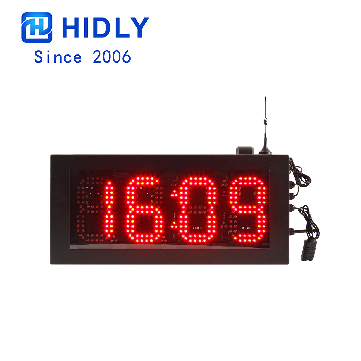 6 Inch Red LED Timer