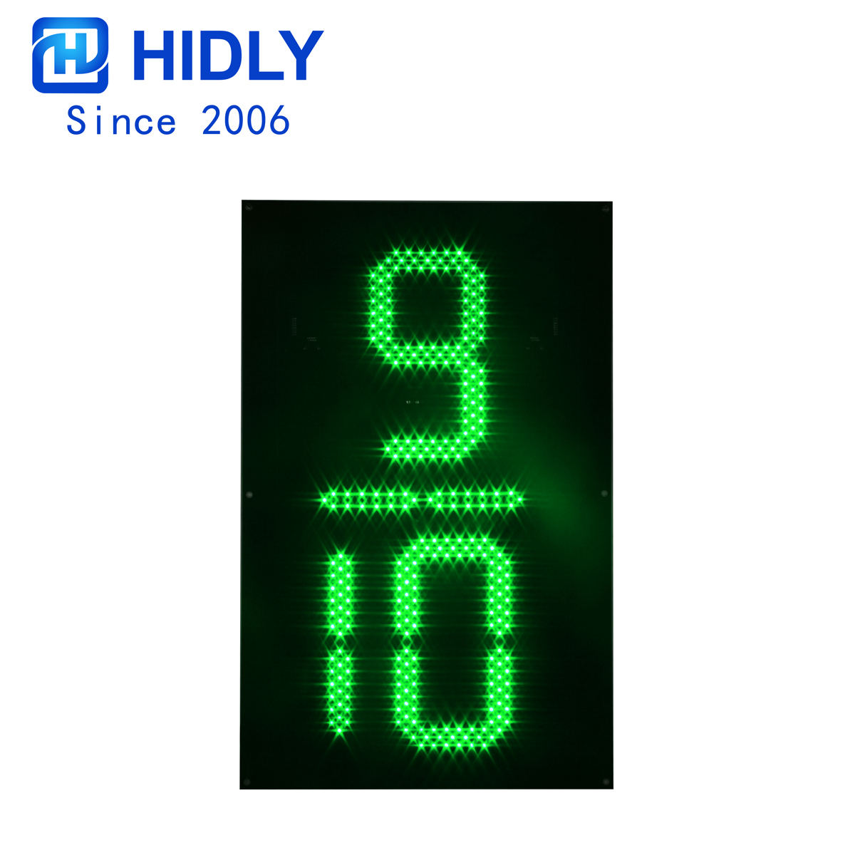 24 Inch 9/10 Green Led Digital Board