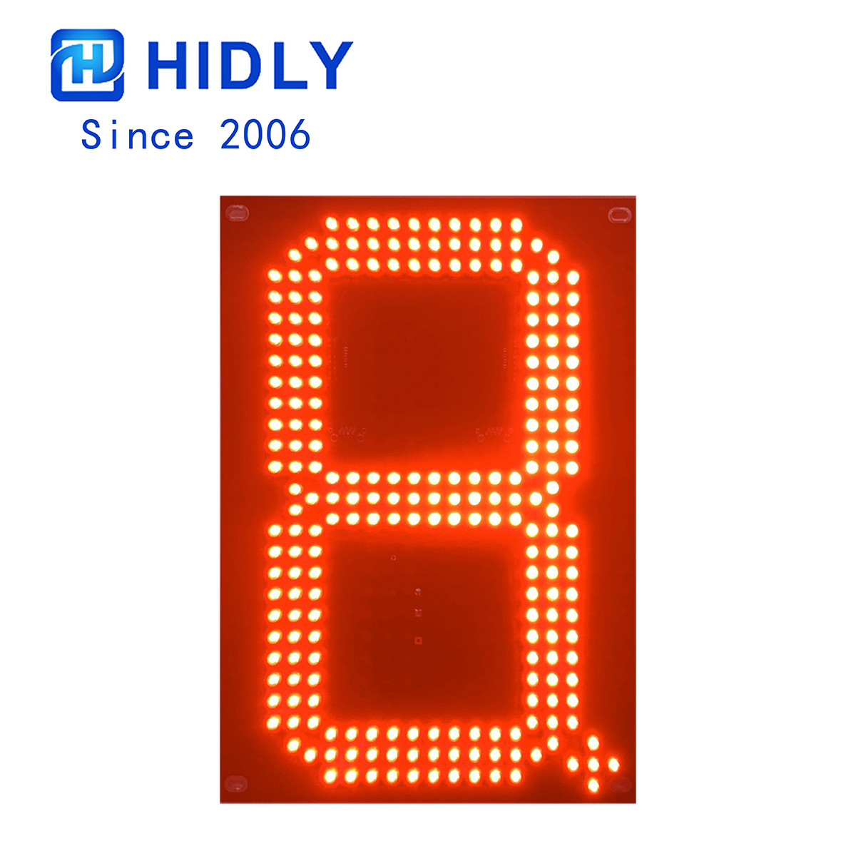Red 10 Inch Led Digital Board