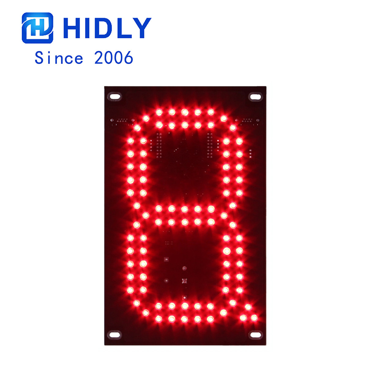 Red 7 Inch Led Digital Board