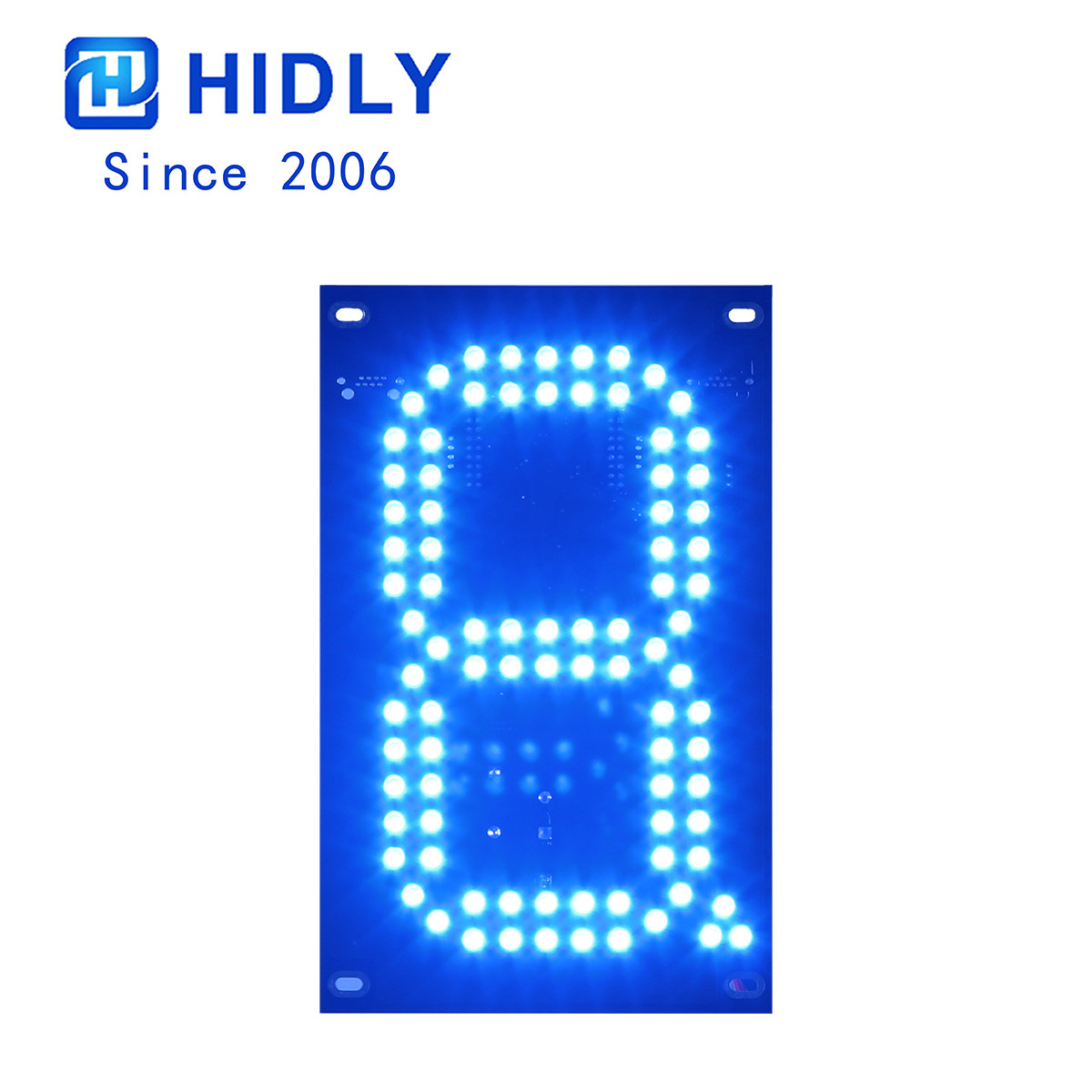 Blue 7 Inch Led Digital Board