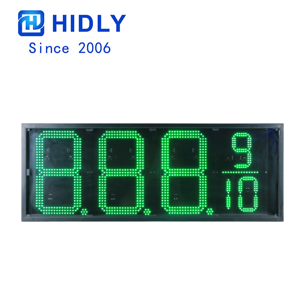 American Waterproof 16 Inch Green Led Price Gas Signs:GAS16Z8889G title=