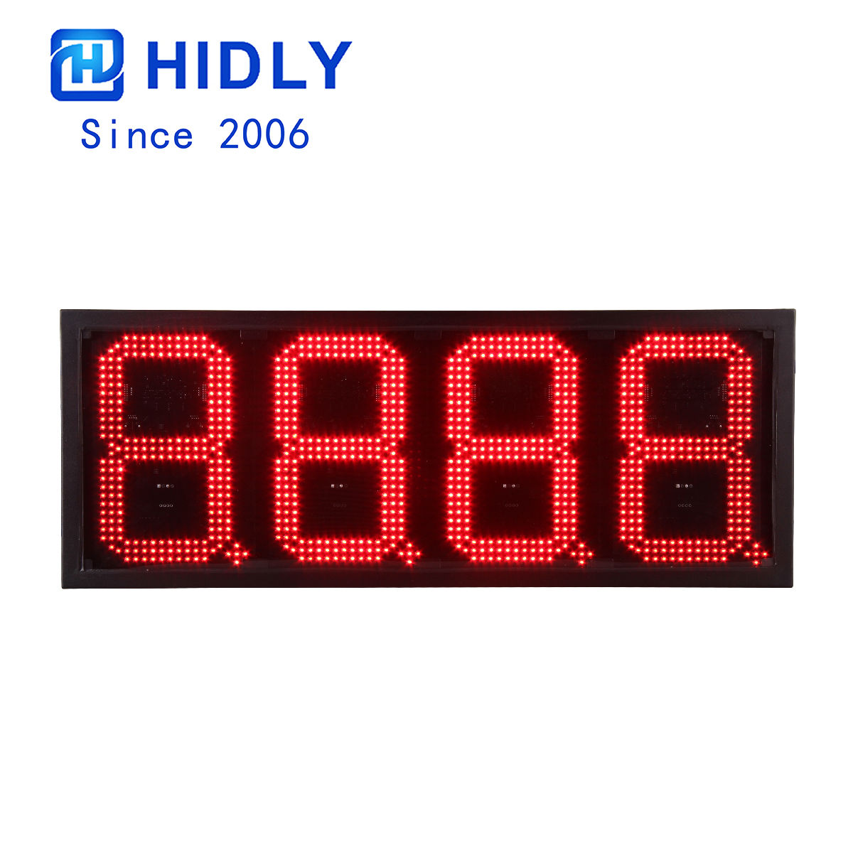 Outdoor Gas Led Signs:GAS10Z8888R