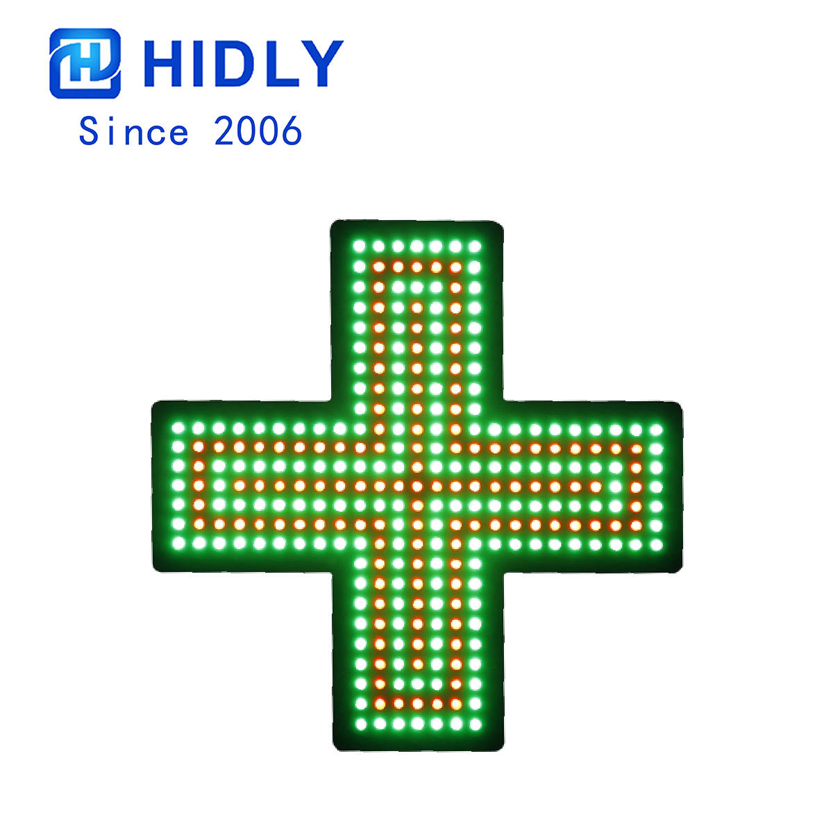 Pharmacy Cross Led Sign:PH48G176R125