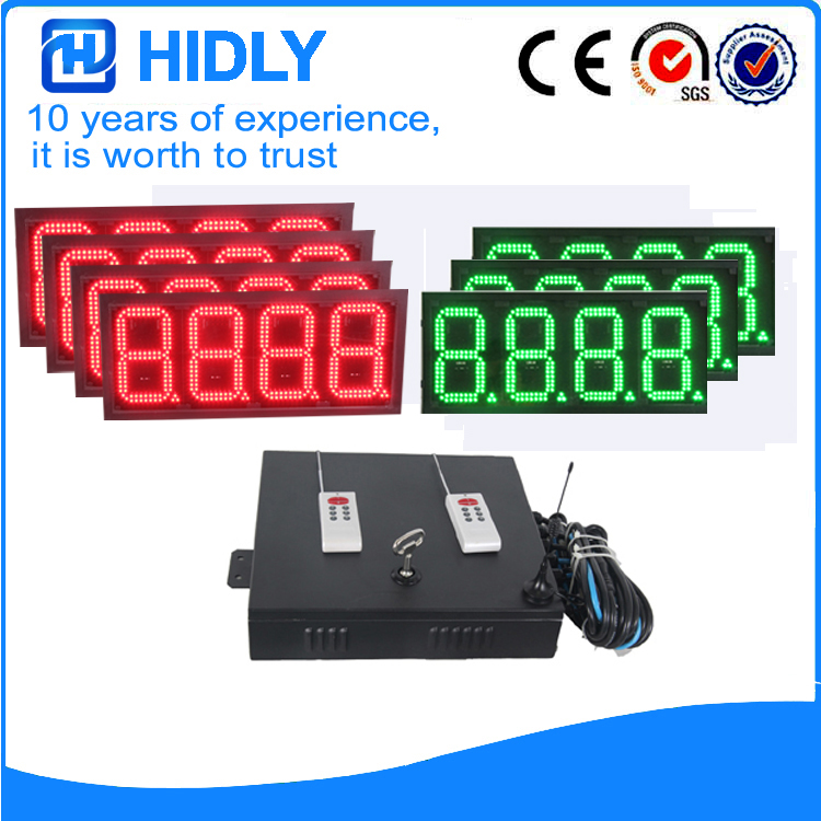 8 Inch 4R3G LED Oil Display For Station