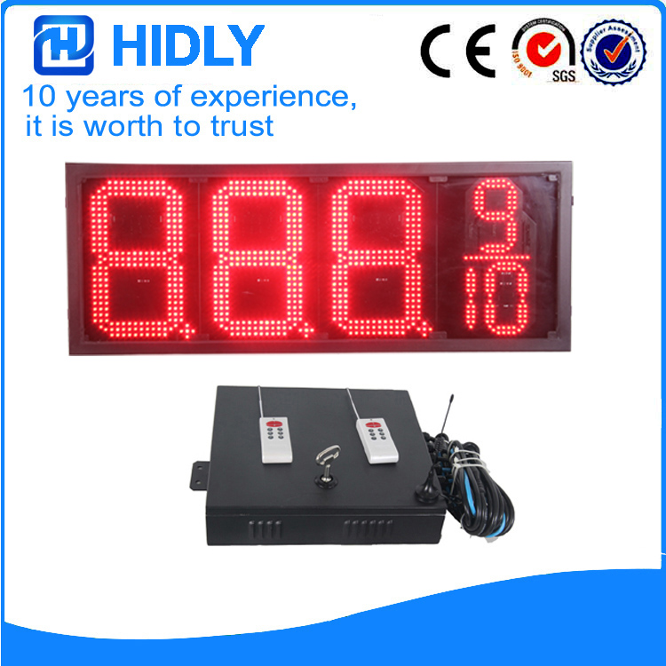 12 Inch Red LED Digital Display
