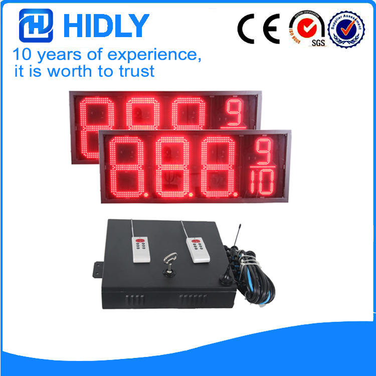 16 Inch Red LED Digital Signs
