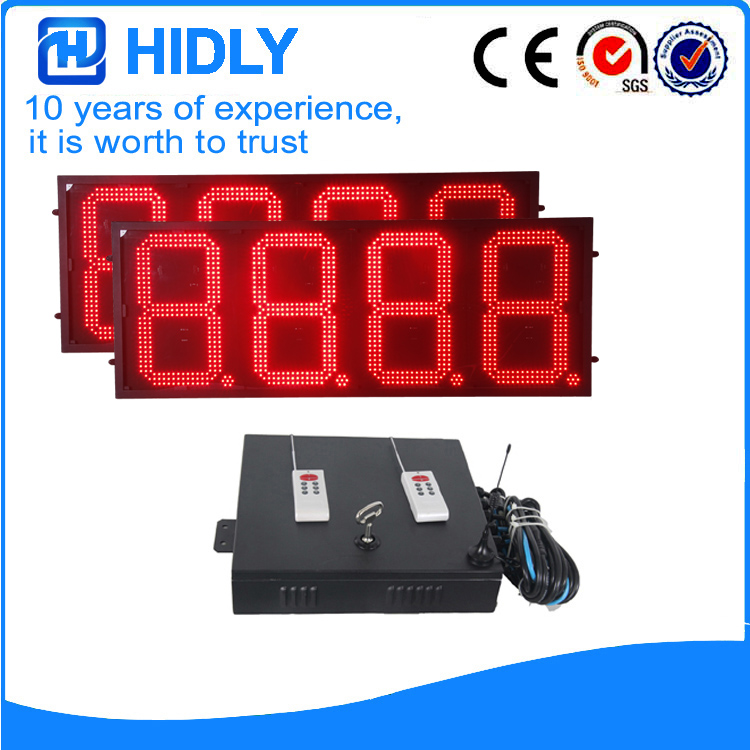 Hidly 16 Inch LED Red Gas changer